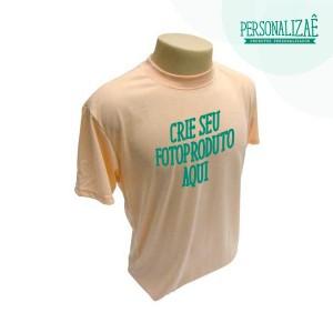 Camiseta Personalizada Salmão